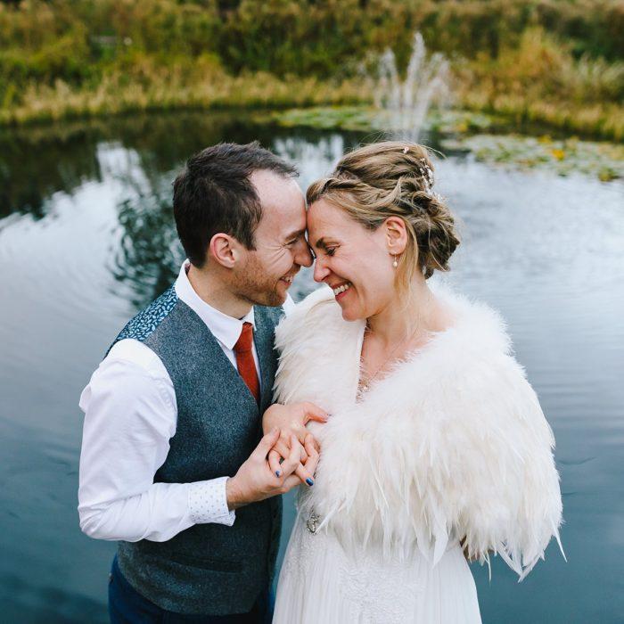 RACHAEL AND MATT - WHITE DOVE BARN WEDDING