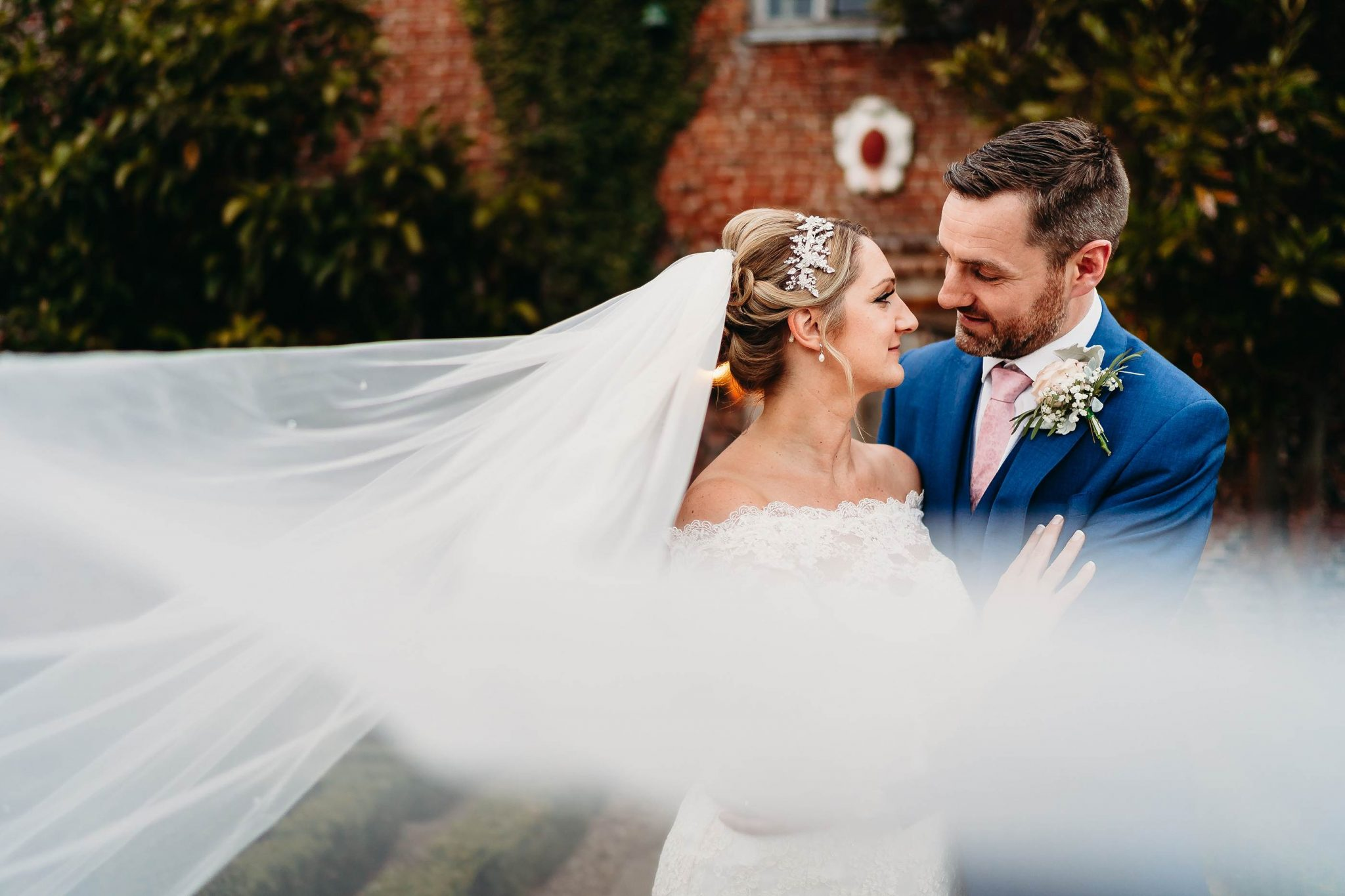 Kat & Colm Hales Hall Barn Wedding